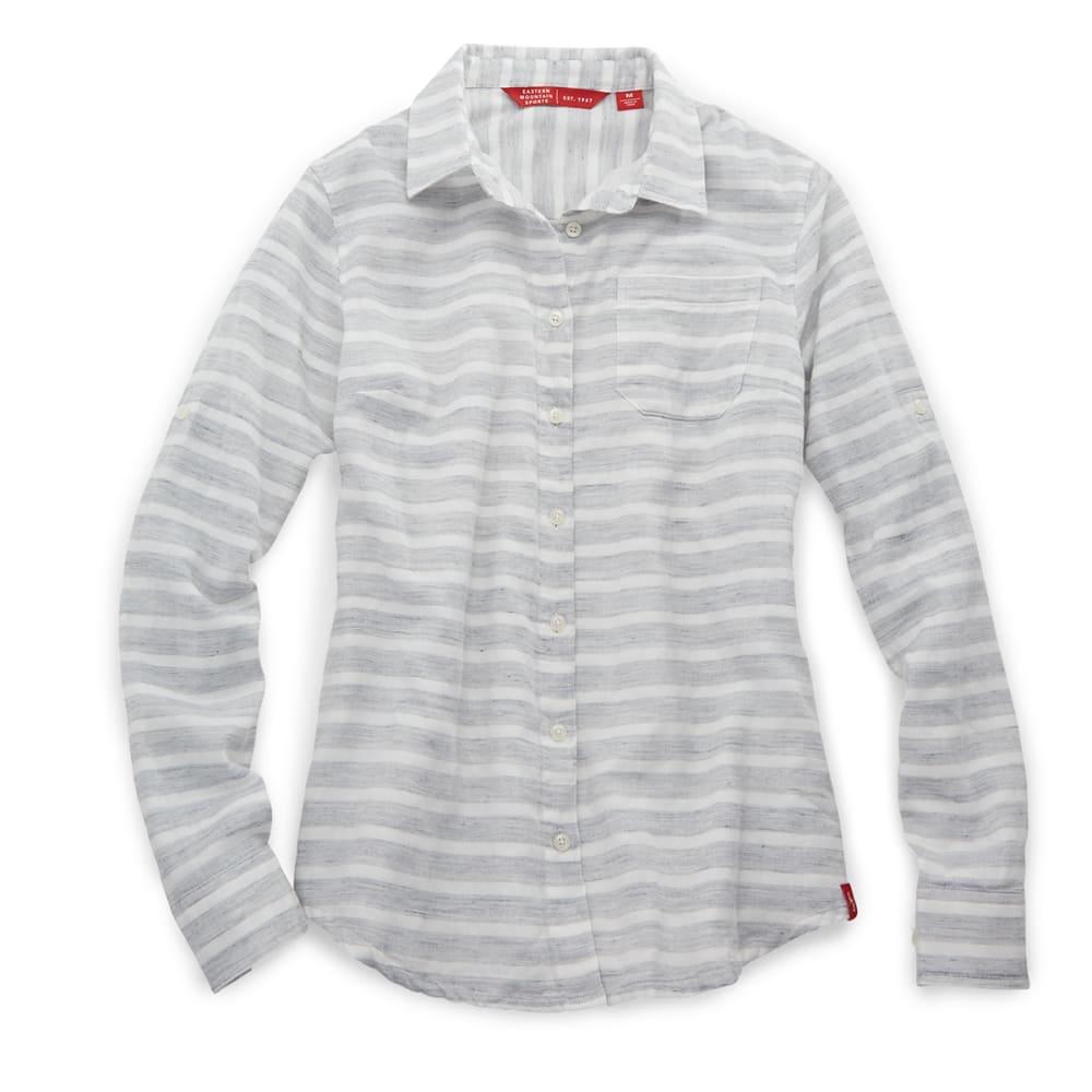 EMS® Women's Breeze Gauze Stripe Shirt - GREYSTRIPE
