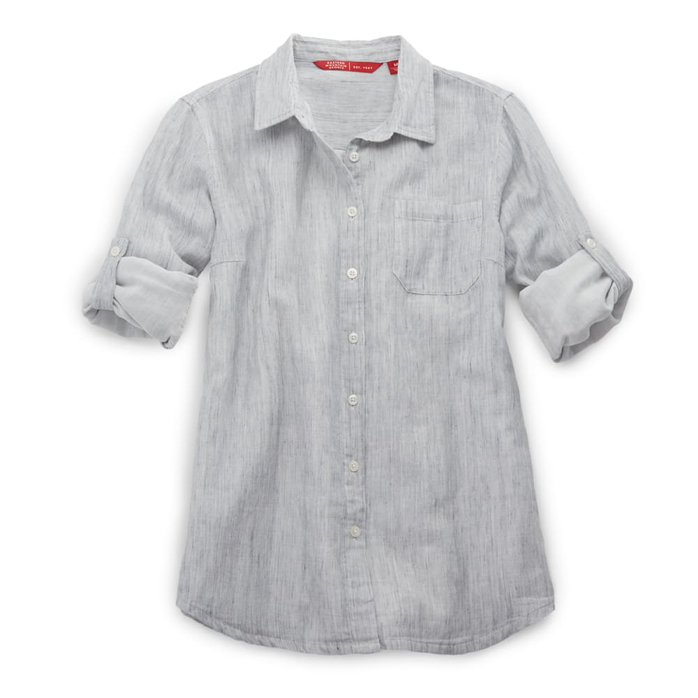 EMS® Women's Breeze Gauze Shirt - HEATHER GRAY