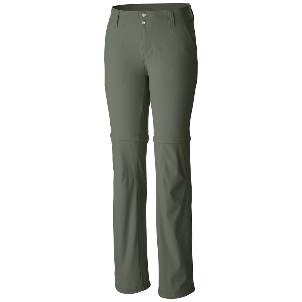 Columbia Women's Saturday Trail Ii Convertible Pants - Green, 14
