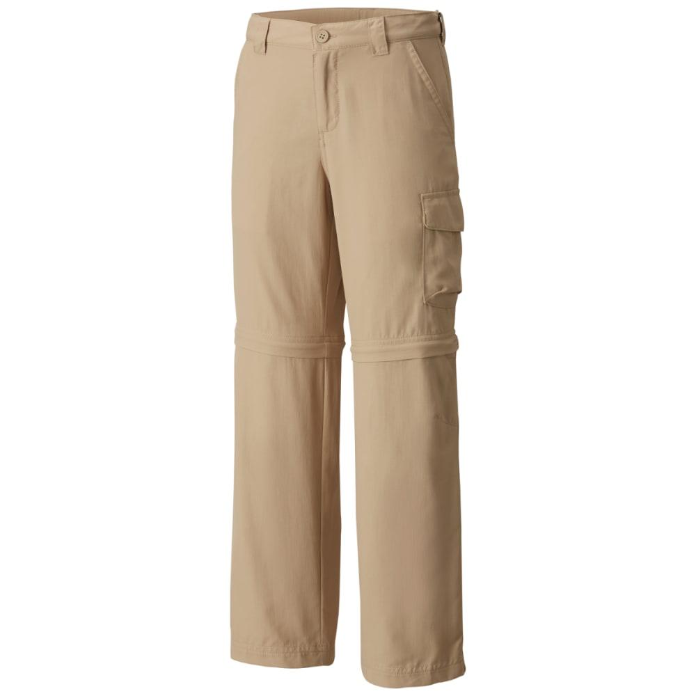 Columbia Boys' Silver Ridge Iii Convertible Pants - Brown, L