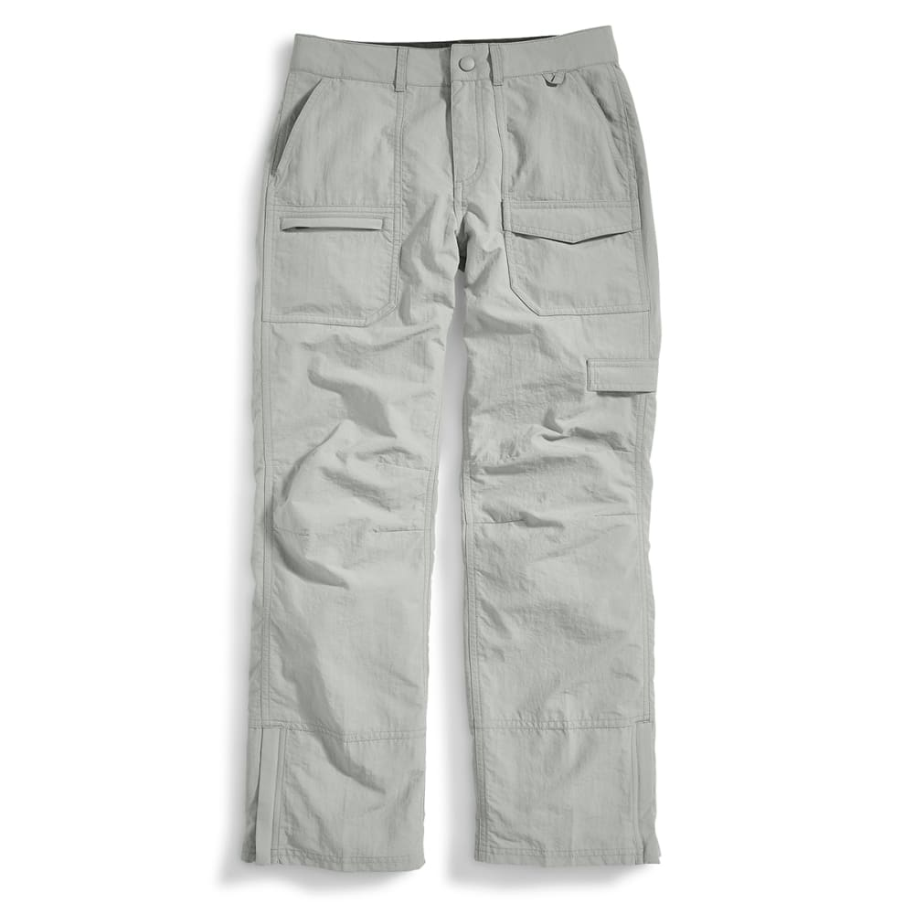 EMS Girl's Camp Cargo Pants - NEUTRAL GREY