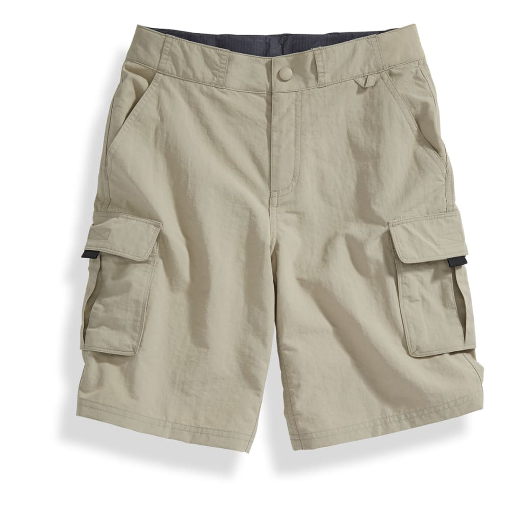 Ems Boys' Camp Cargo Shorts - Brown, S