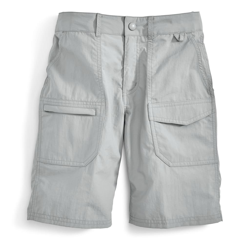 EMS Girls' Camp Cargo Shorts - NEUTRAL GREY