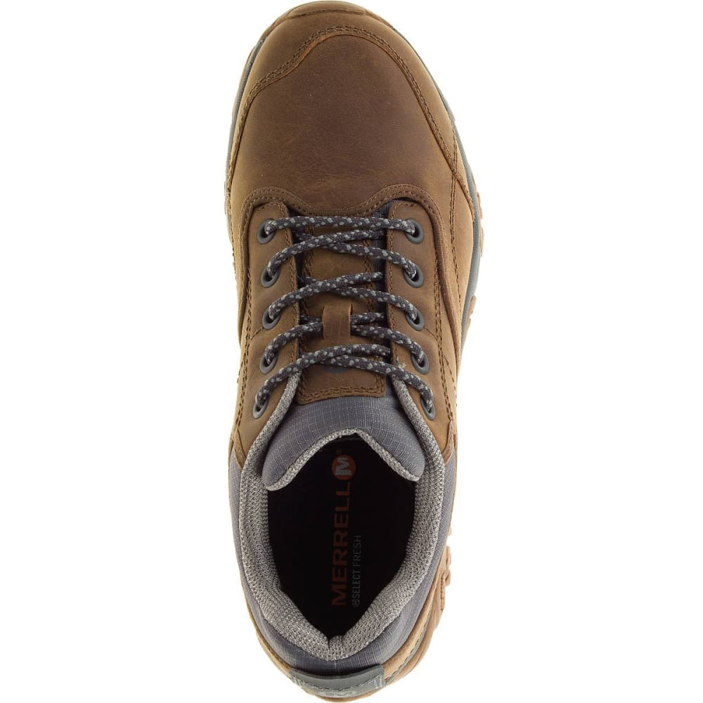 MERRELL Men's Moab Rover Waterproof Shoes, Tan - TAN