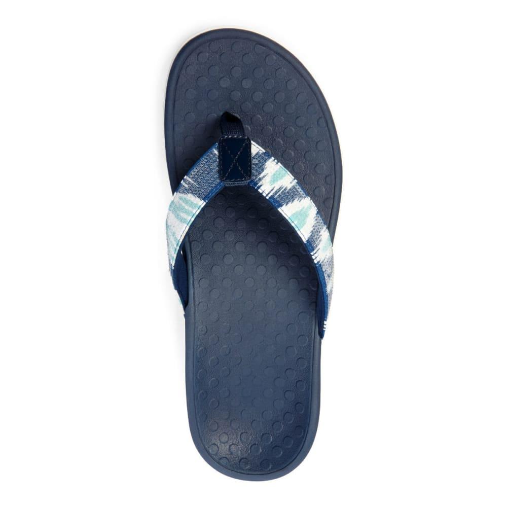 VIONIC Women's Tide Sequins Sandals - WHITE/NAVY