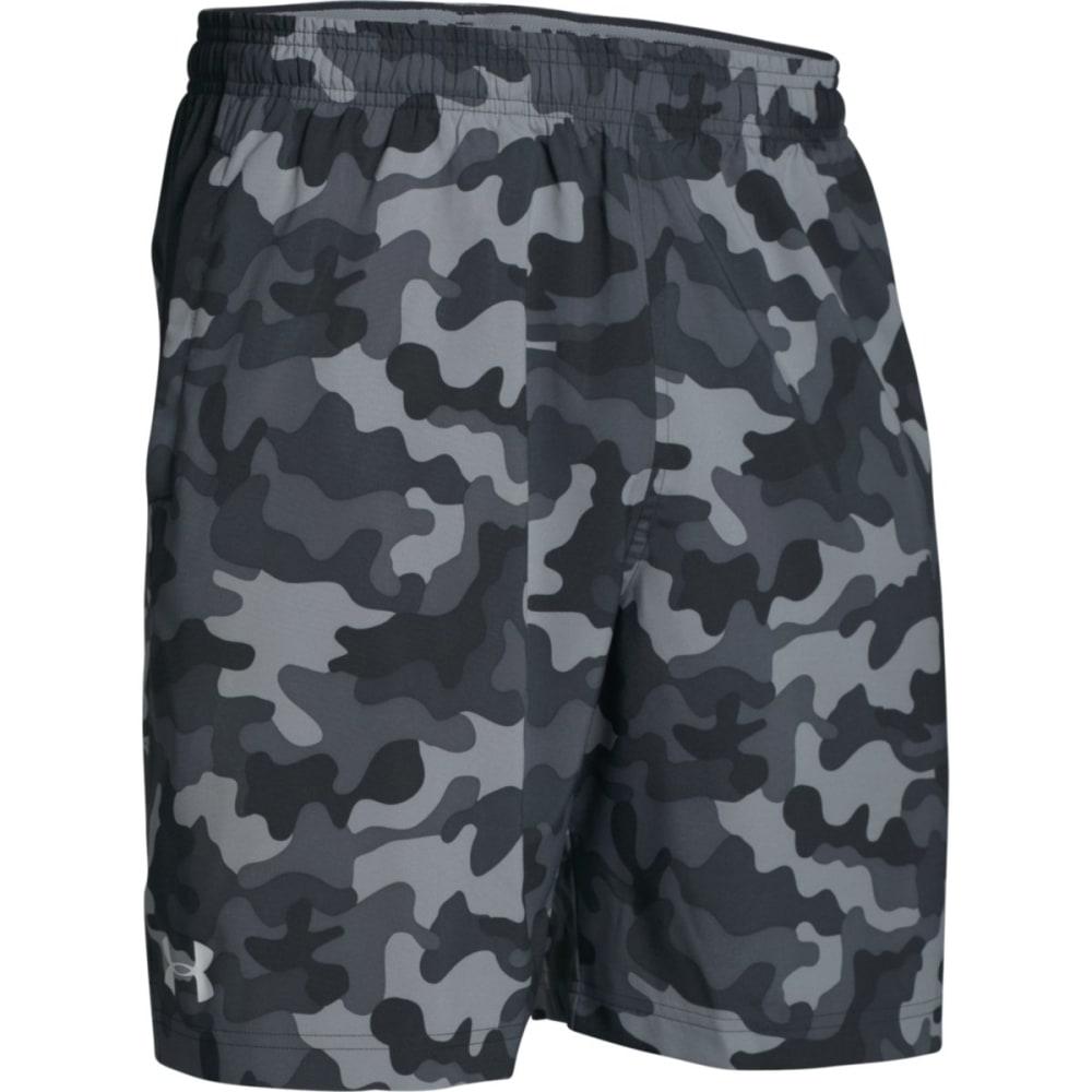 UNDER ARMOUR Men's Hiit Novelty Camo Shorts - BLACK-001