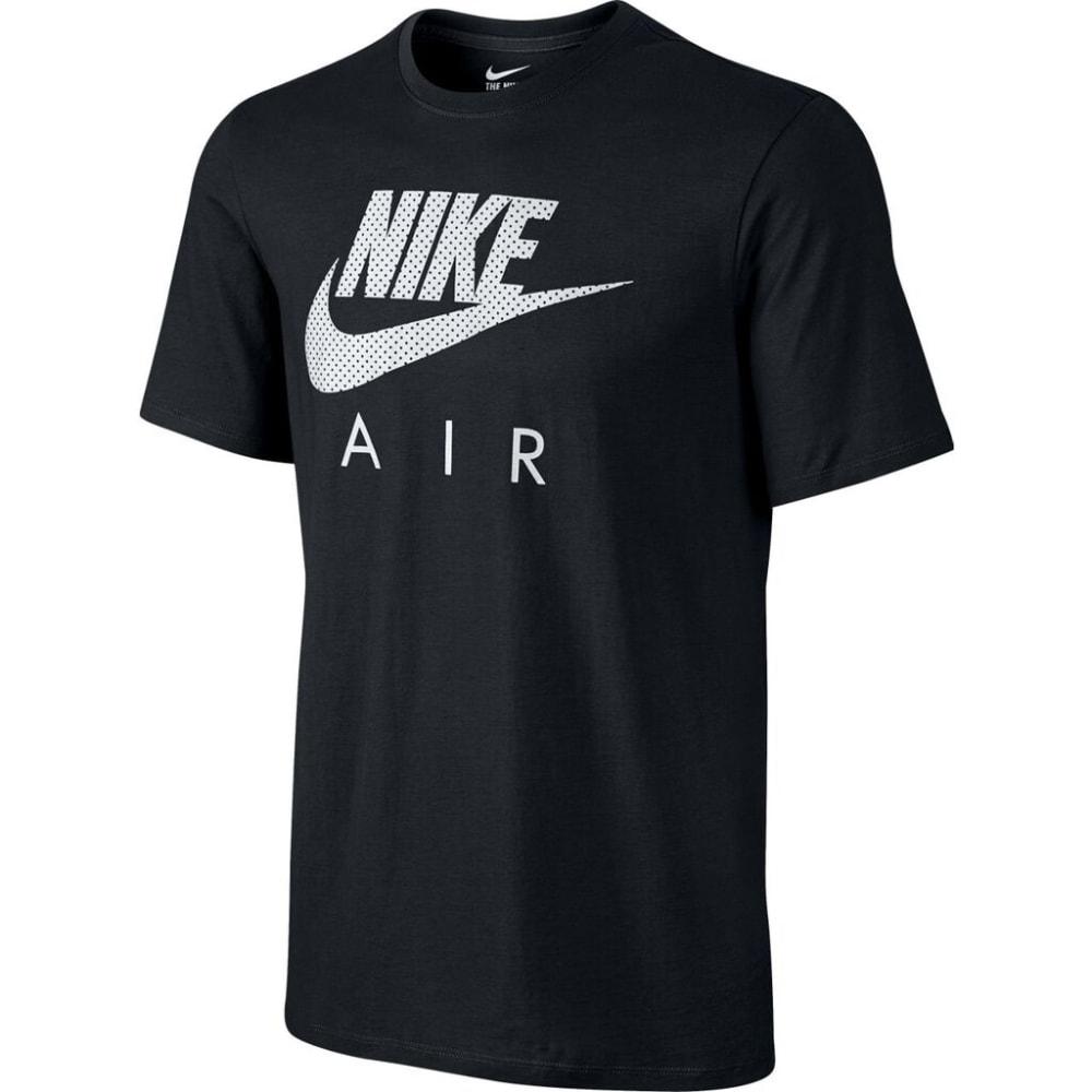 NIKE Men's Air Heritage Short-Sleeve Tee - BLACK-010