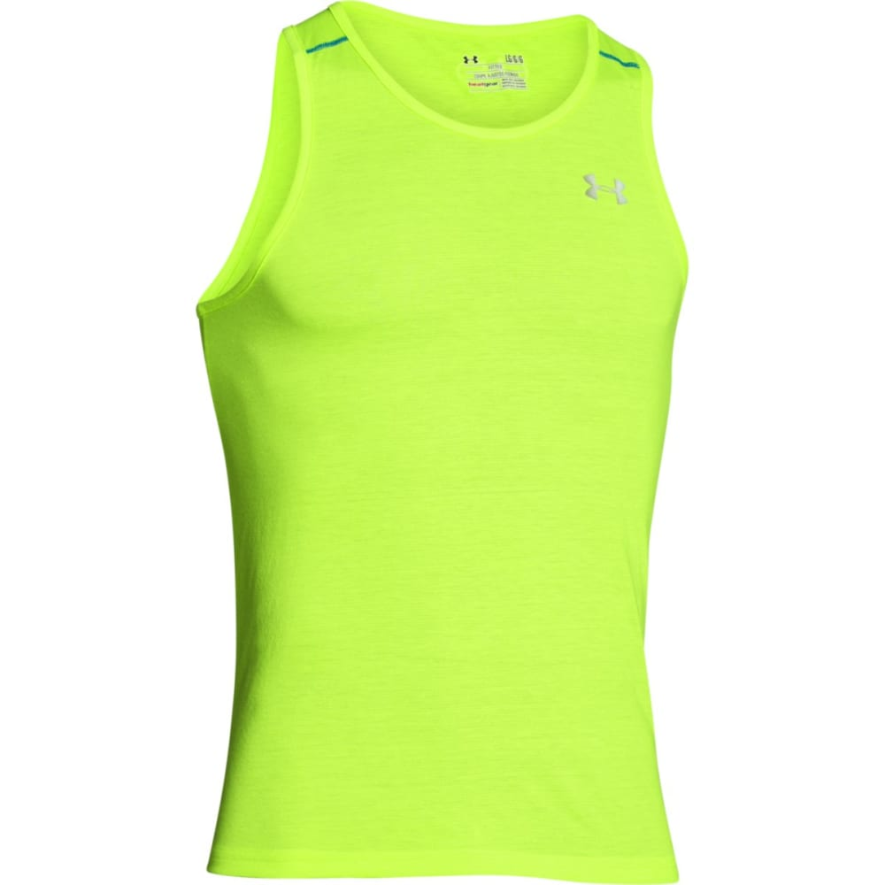 UNDER ARMOUR Men's Streaker Run Singlet - FUEL GREEN-363