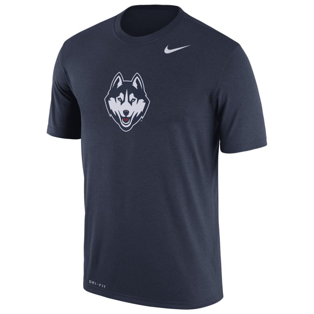 UCONN Men's Legend Logo Dri-Fit Short Sleeve Tee - NAVY
