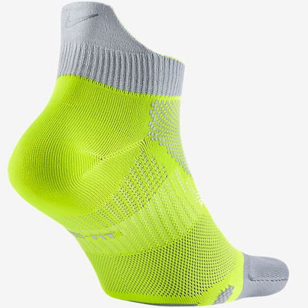 NIKE Men's Running Dri-Fit Cushioned Volt Socks - VOLT 700 LARGE