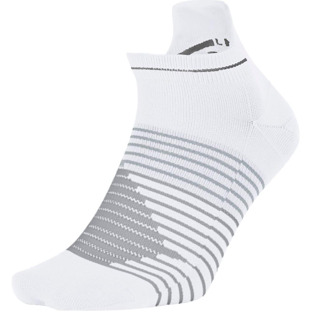 NIKE Men's Dri-FIT Lightweight No-Show Tab Running Socks - WHITE 100