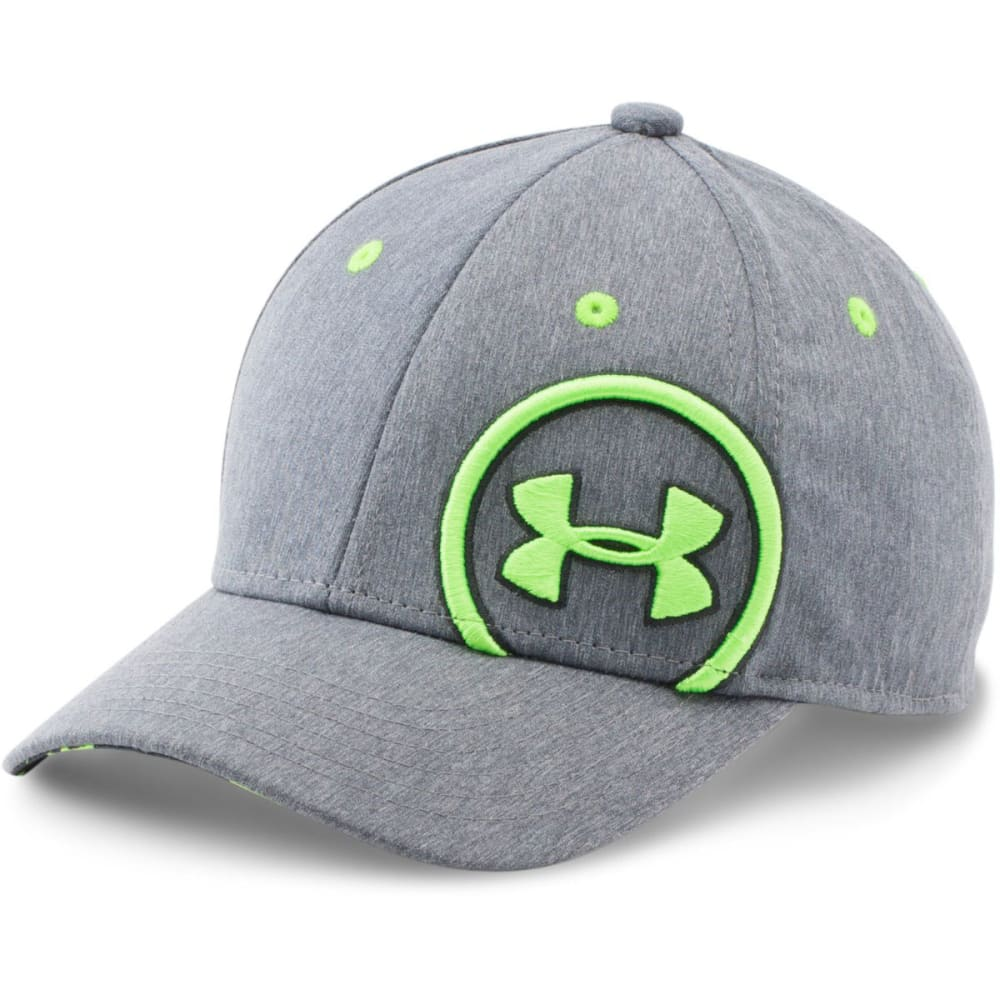 UNDER ARMOUR Boys' Big Logo Cap - BLACK/CREAM/GUM