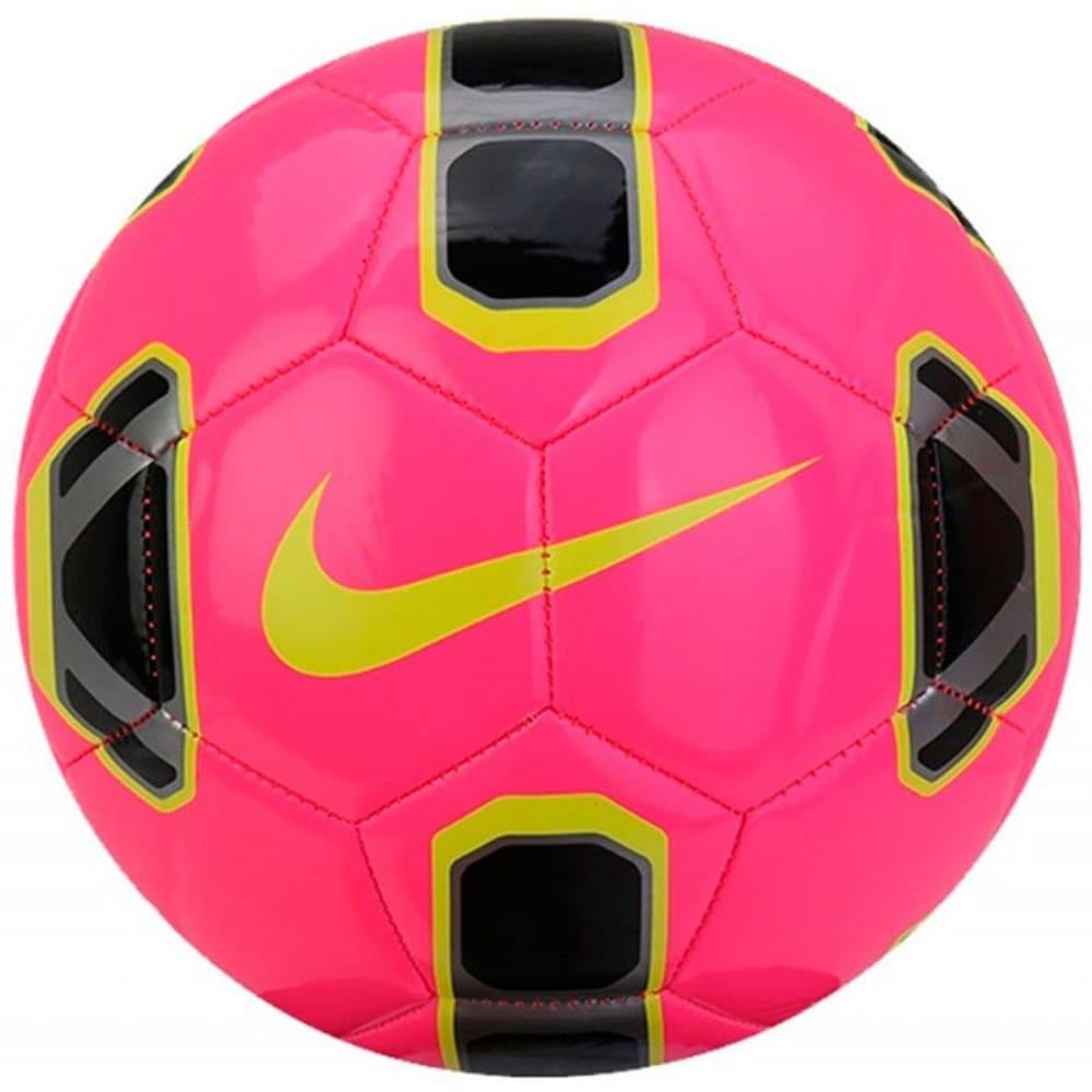 NIKE Tracer Training Soccer Ball - HYP PNK BLK VOLT-639