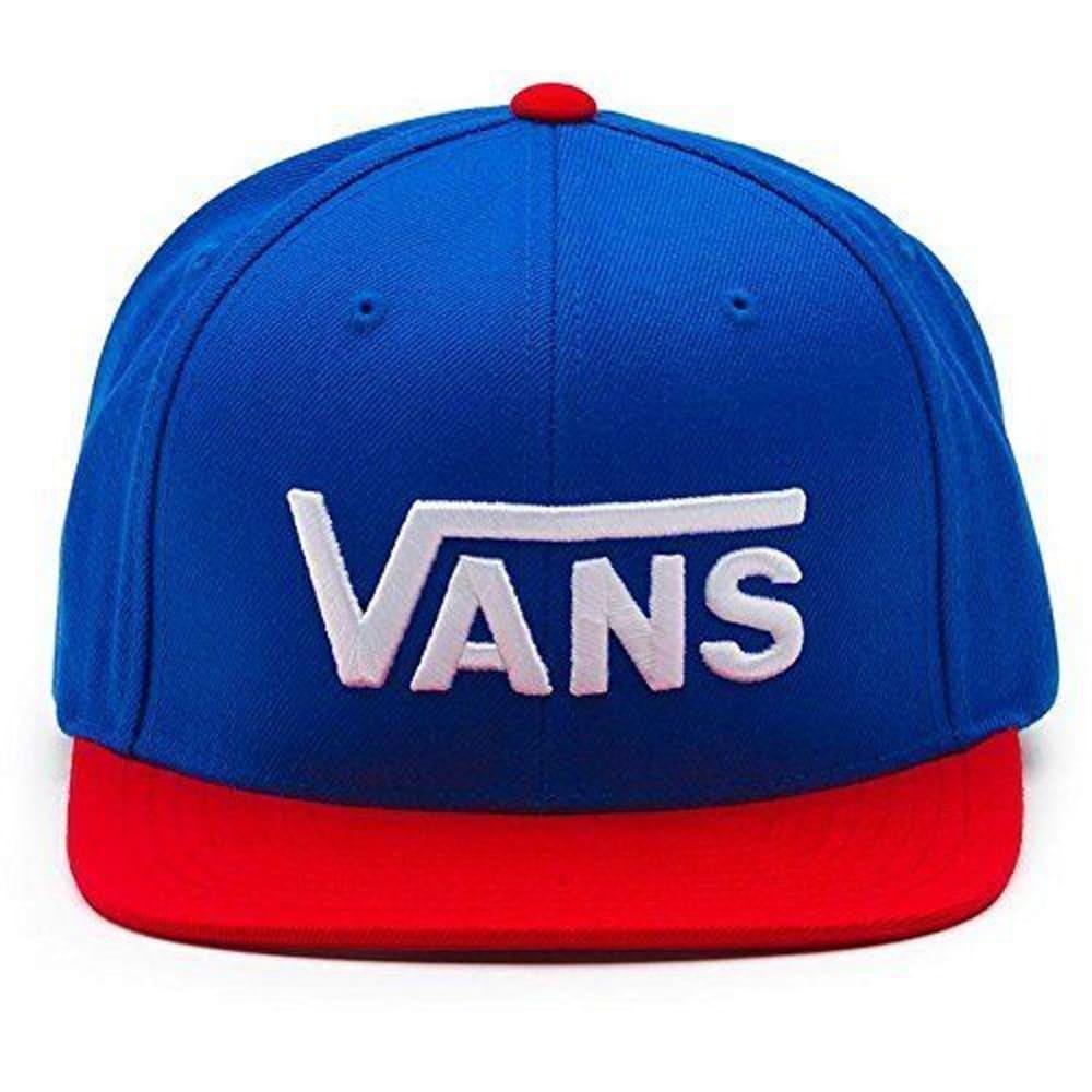 VANS Guys' Drop V Snapback Hat - NONE