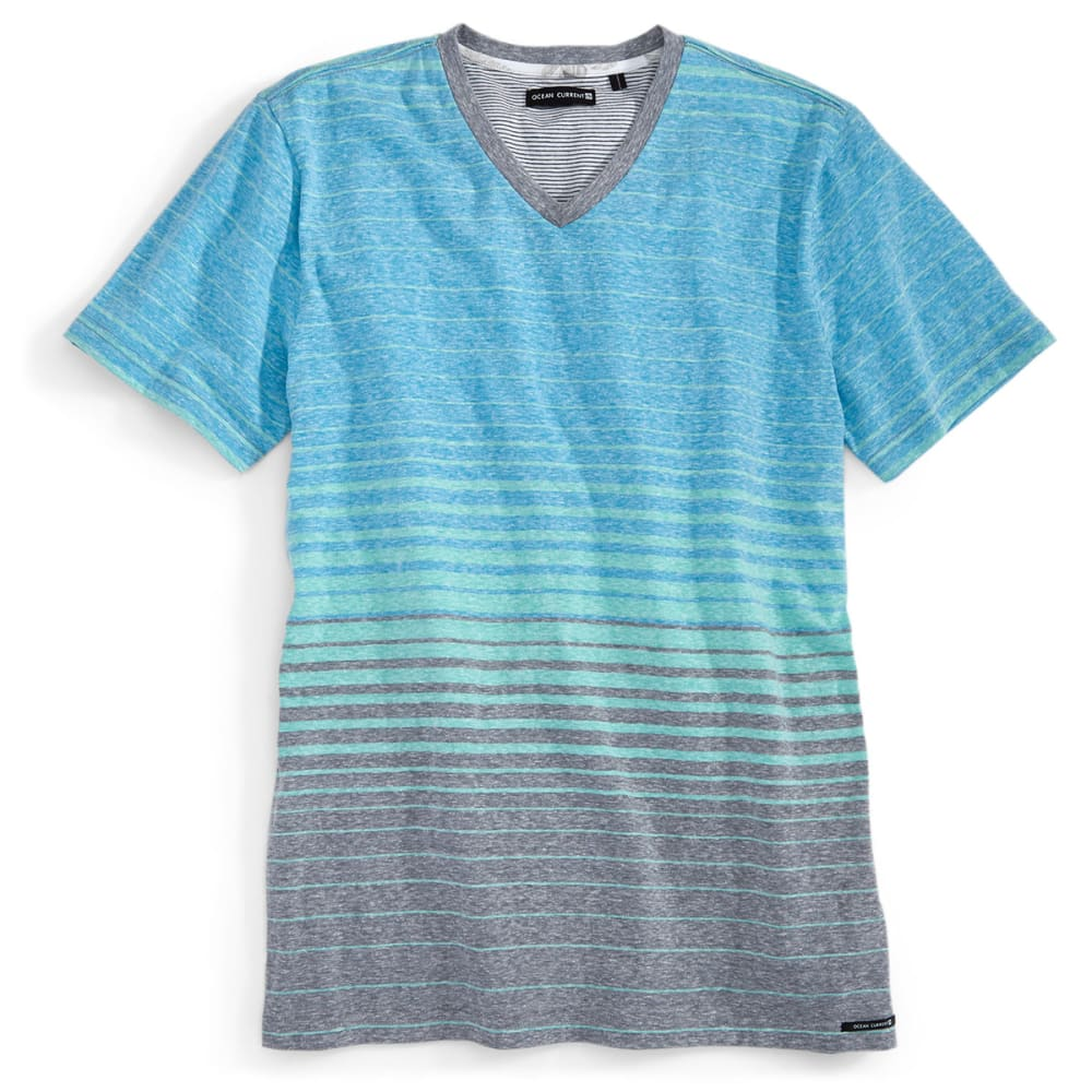 OCEAN CURRENT Guys' Jesse Striped Shirt - ICEE