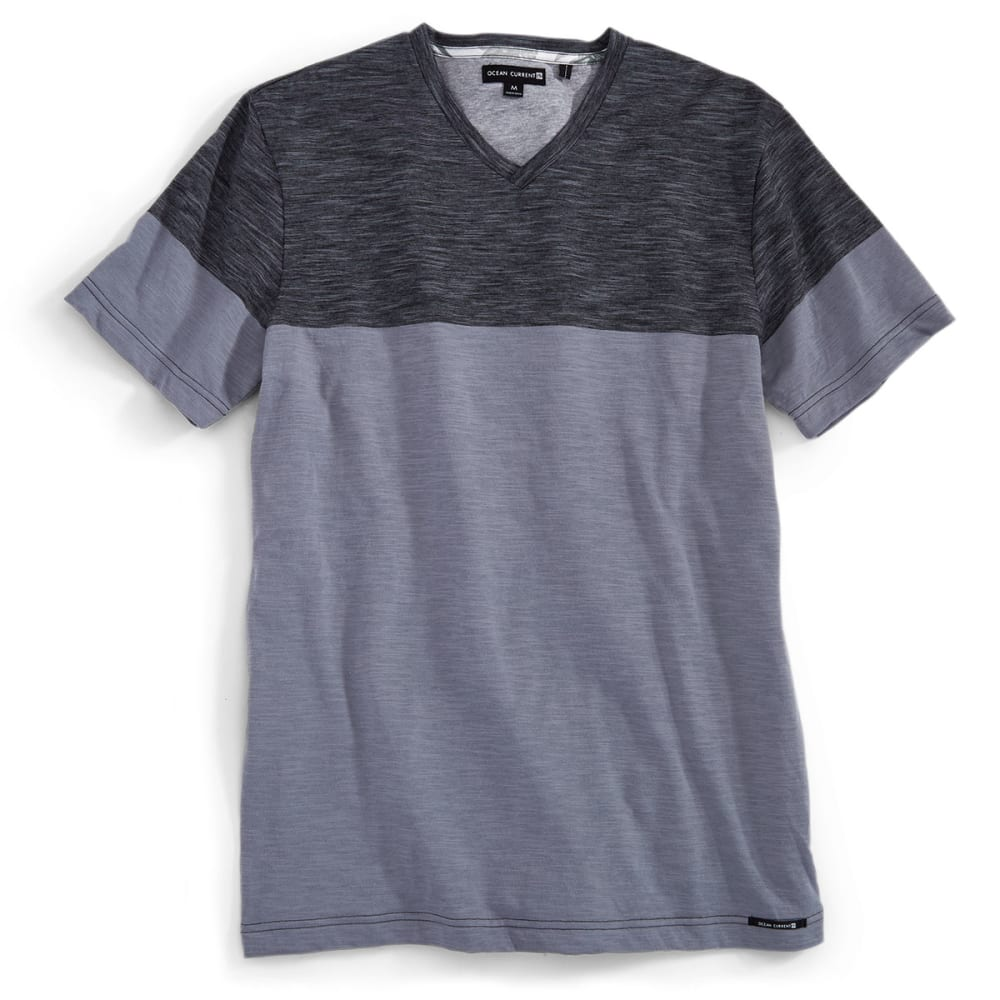 OCEAN CURRENT Guys' Short-Sleeve Camacho Shirt - MOUSE GREY