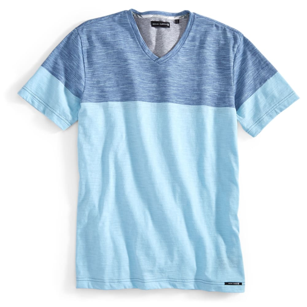 OCEAN CURRENT Guys' Short-Sleeve Camacho Shirt - CLEAR WATER