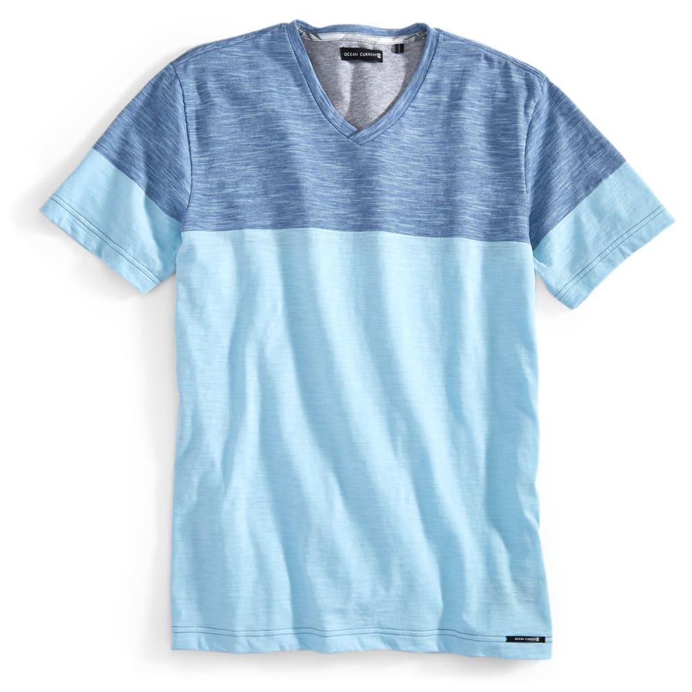 OCEAN CURRENT Guys' Short-Sleeve Camacho Shirt - CLEAR WATER