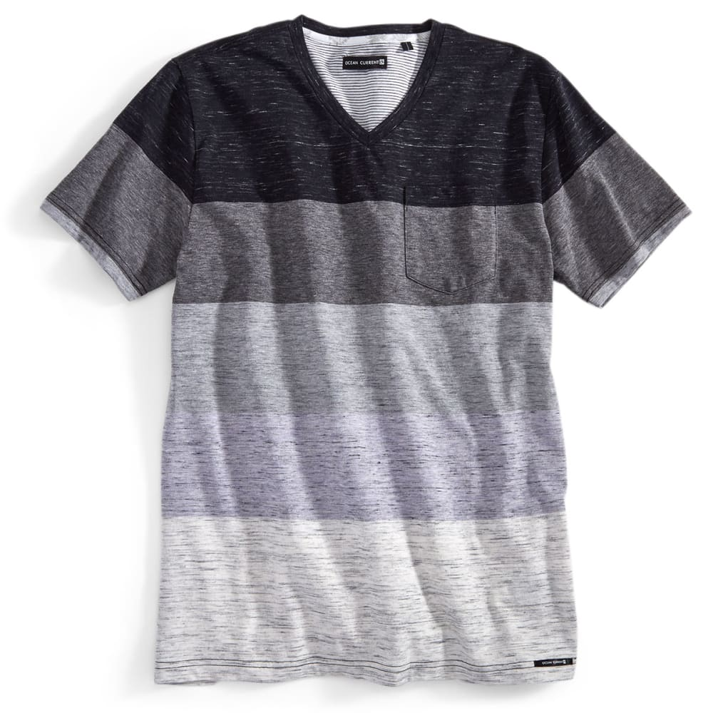 OCEAN CURRENT Guys' Short-Sleeve Podolski Shirt - BLACK