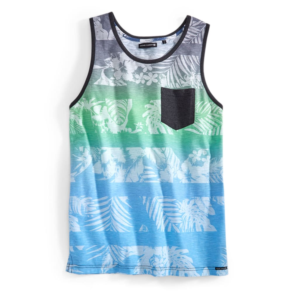 OCEAN CURRENT Guys' Luciano Tank - BLACK