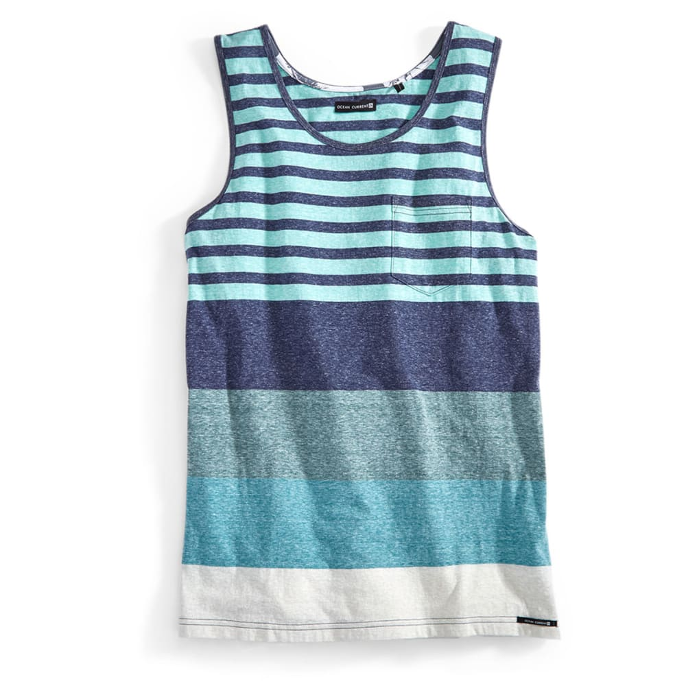 OCEAN CURRENT Guys' McQueen Tank - INDIGO
