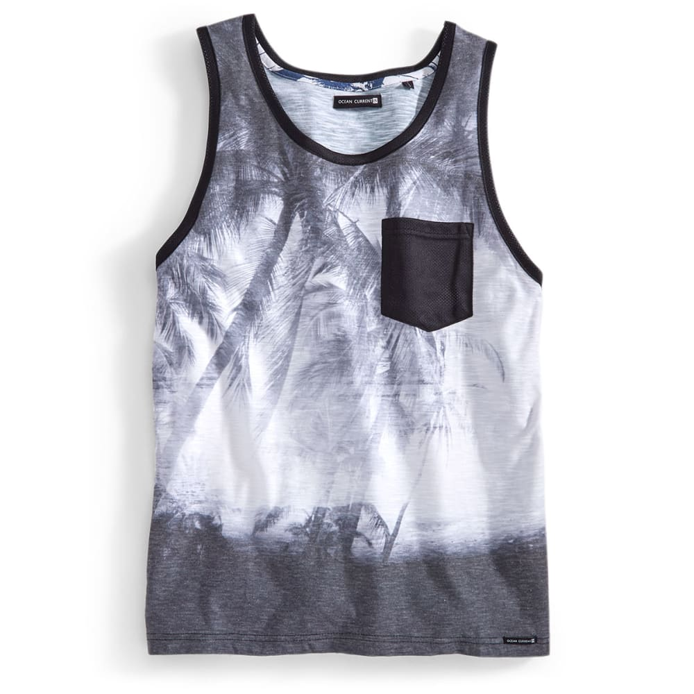OCEAN CURRENT Guys' Beltrano Tank - BLACK