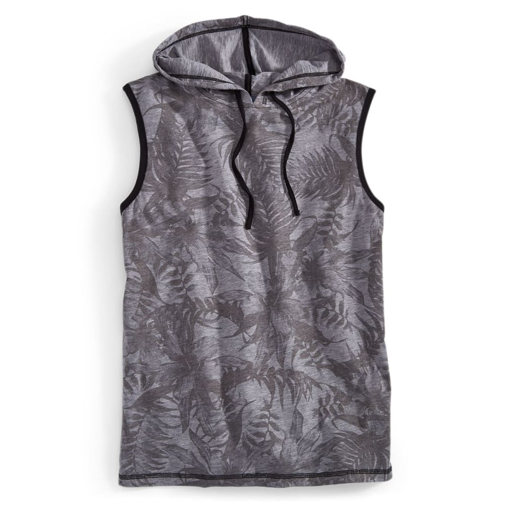 OCEAN CURRENT Guys' Hooded Tropical Tank - MOUSE GREY