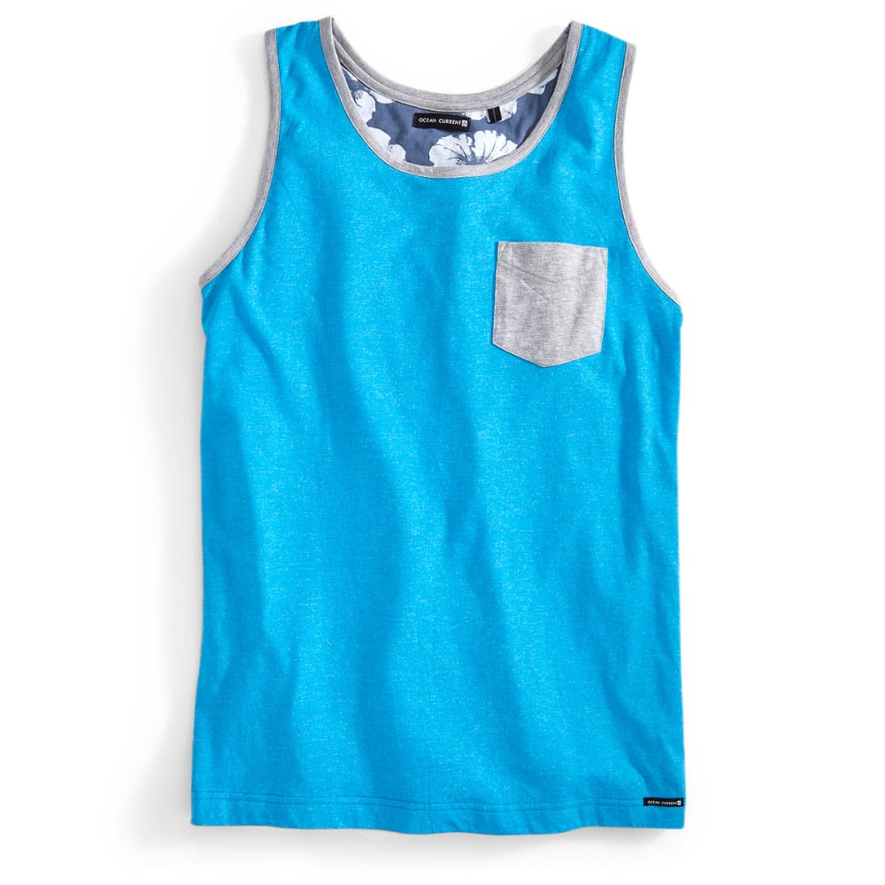 OCEAN CURRENT Guys' Nirvana Tank - OCEAN BLUE