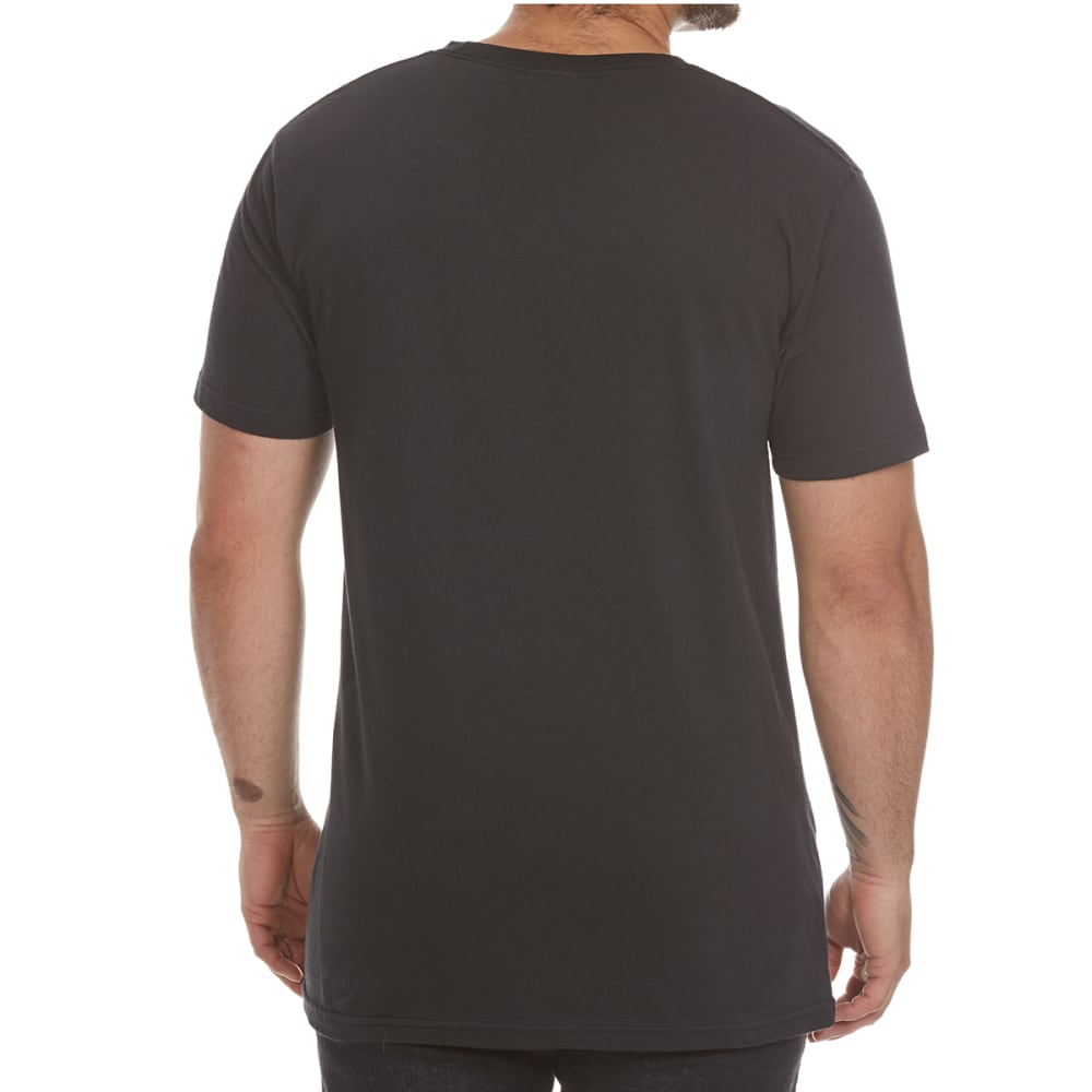 BRAVADO Men's Johnny Cash American Rebel Shirt - BLACK