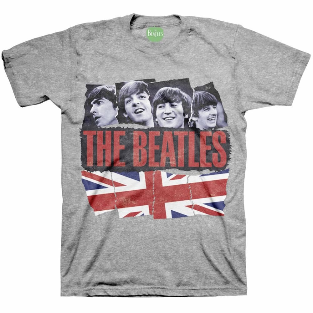 BRAVADO Guys' The Beatles Pieced Together Tee - LIGHT GREY