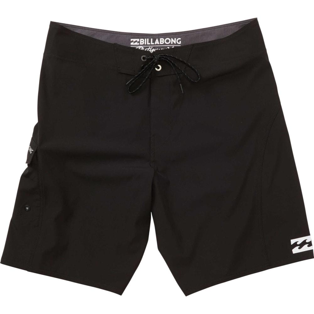 BILLABONG Guys' All Day X-Solid Stretch Boardshorts - BLACK