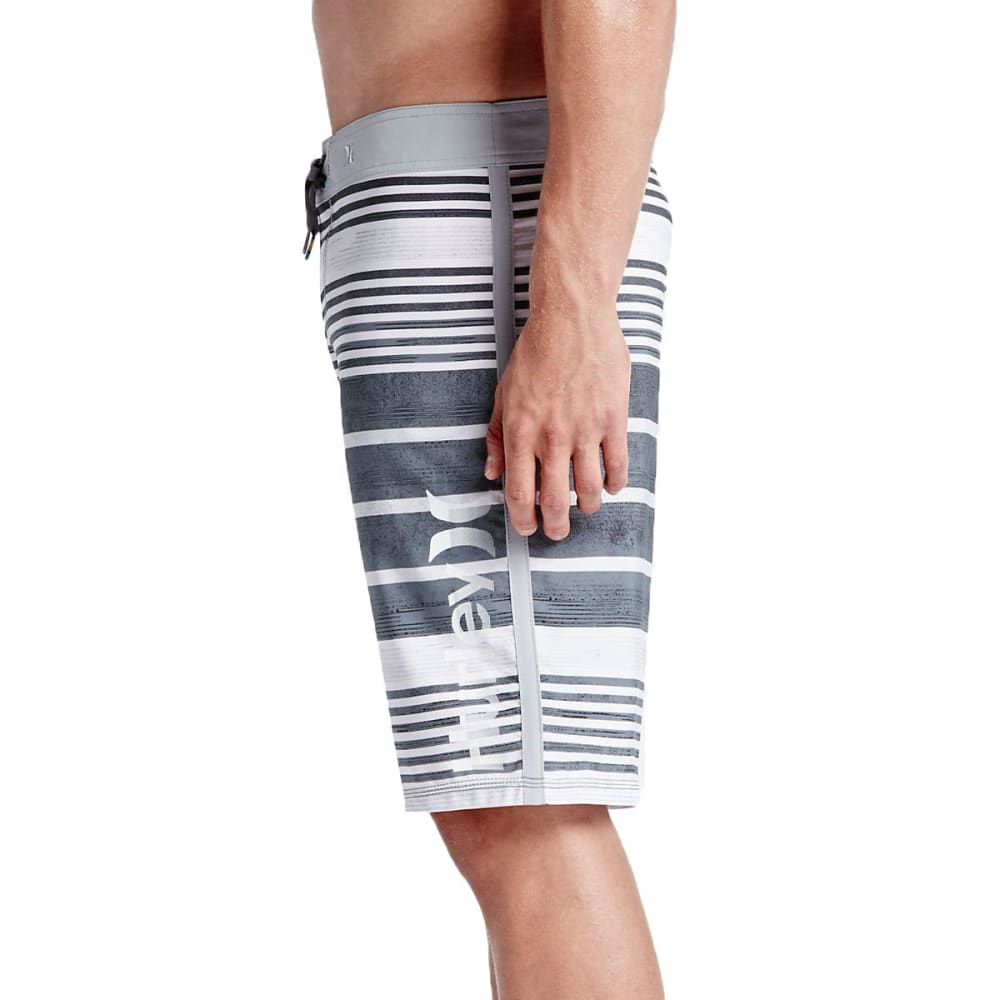 HURLEY Guys' Phantom Hightide Board Shorts - ANTHRACITE