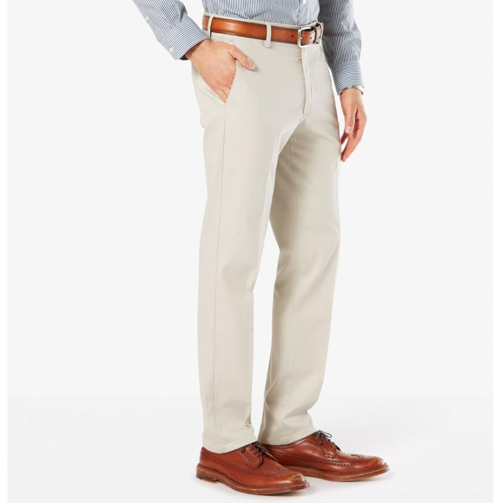 DOCKERS Men's Signature Stretch Slim Khakis - CLOUD 0009