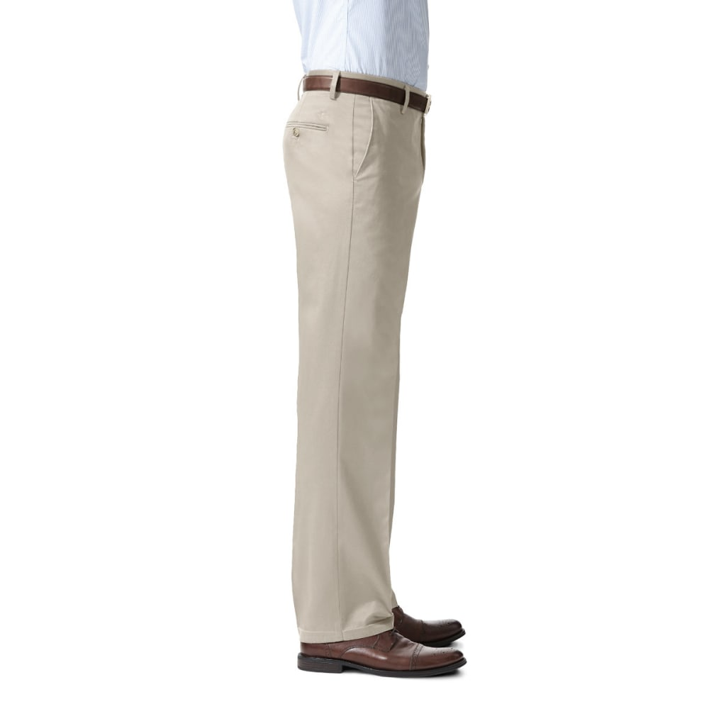 DOCKERS Men's Signature Stretch Straight-Leg Khakis - CLOUD 0007