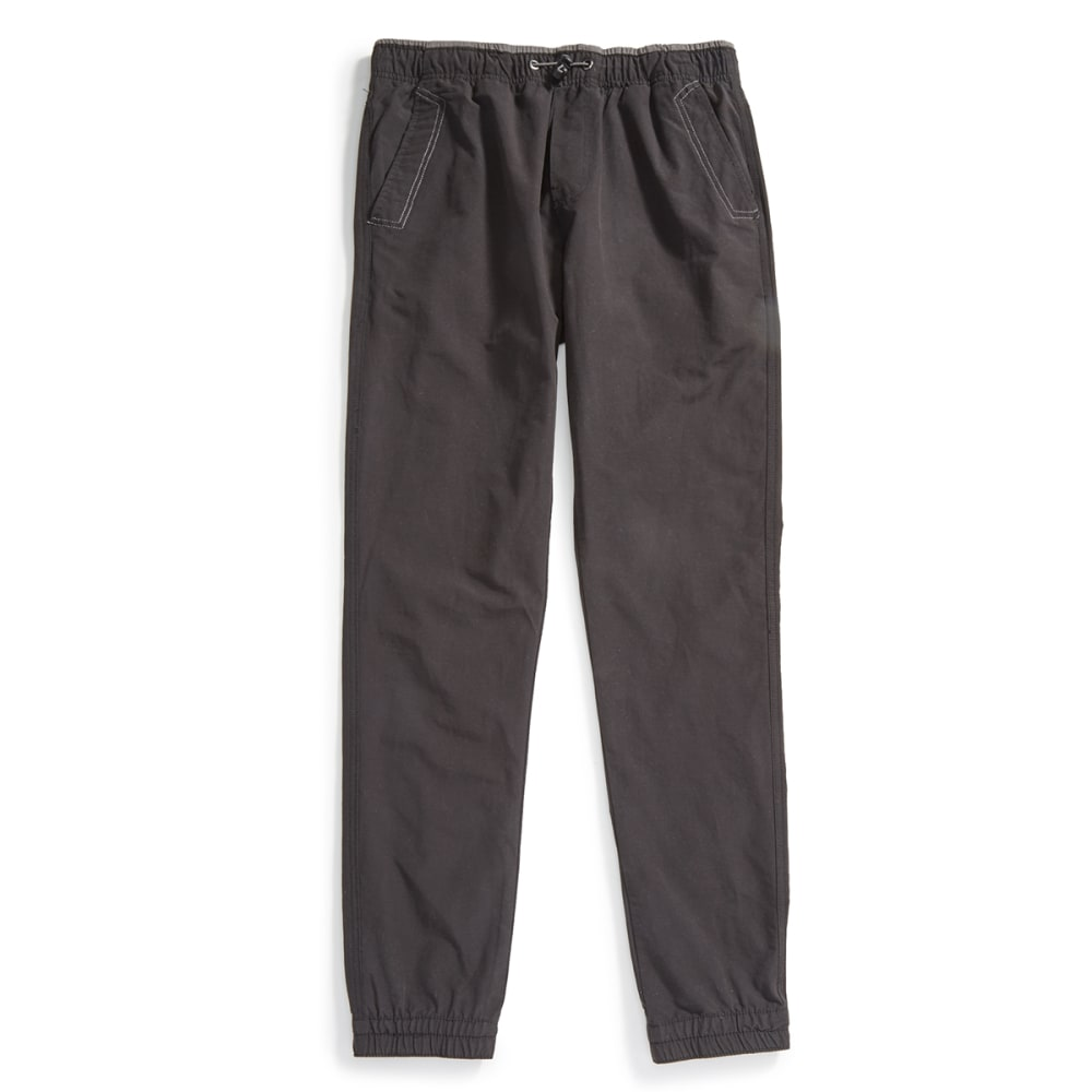 OCEAN CURRENT Guys' Eagle Woven Jogger Pants - BLACK