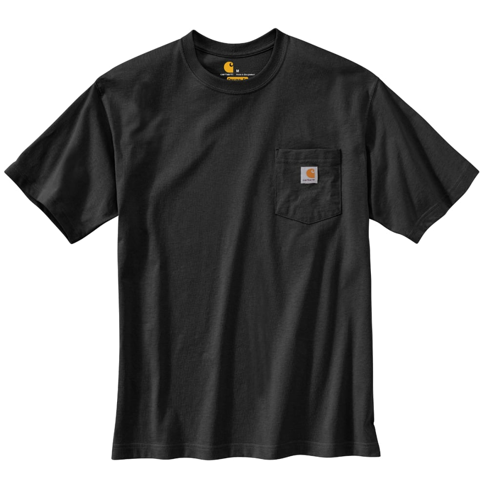 CARHARTT Men's Back Graphic Camo Tee - BLACK