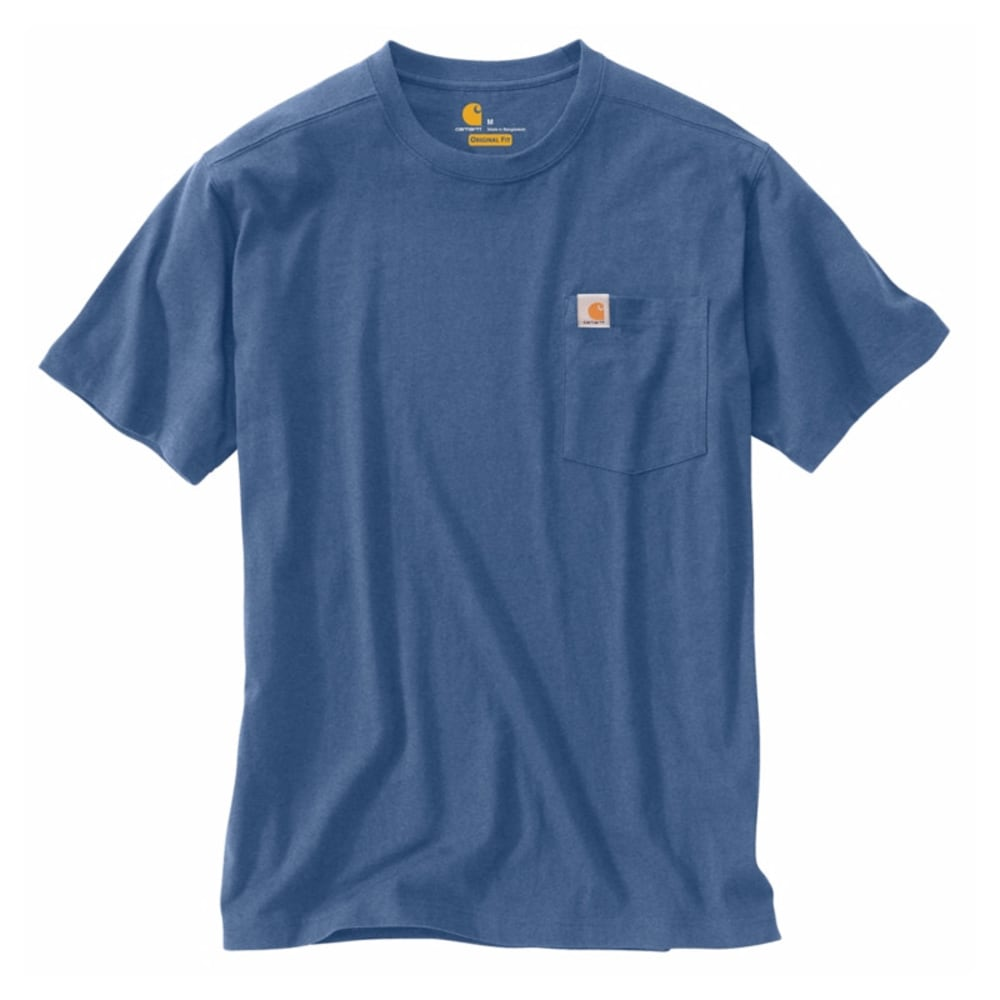 CARHARTT Men's Maddock Fly Fishing Tee - NAVY/CREAM/GUM