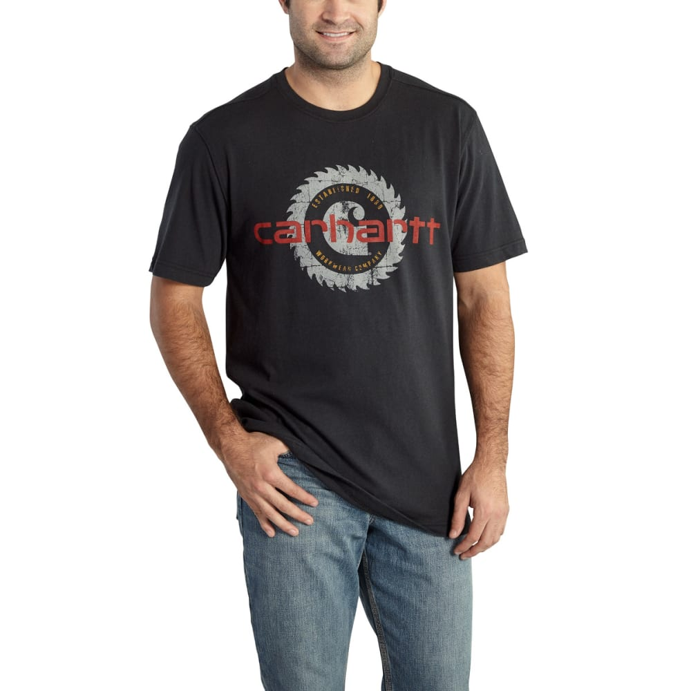 CARHARTT Men's Maddock Graphic Blade Shirt - BLACK-001
