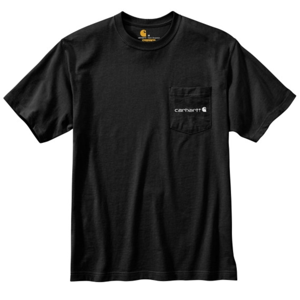 CARHARTT Men's Workwear Graphic Hunting Dogs Tee - BLACK