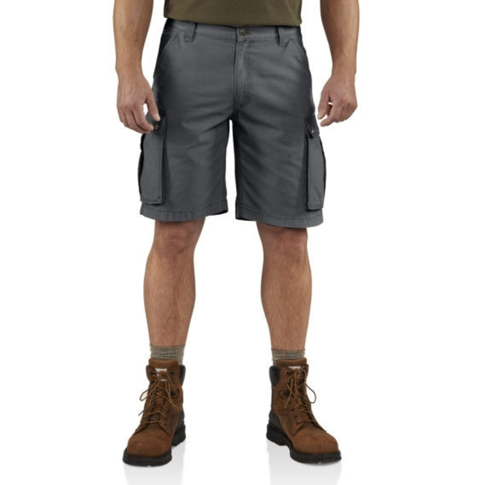 CARHARTT Men's Rugged Cargo Shorts - 039 GRAVEL