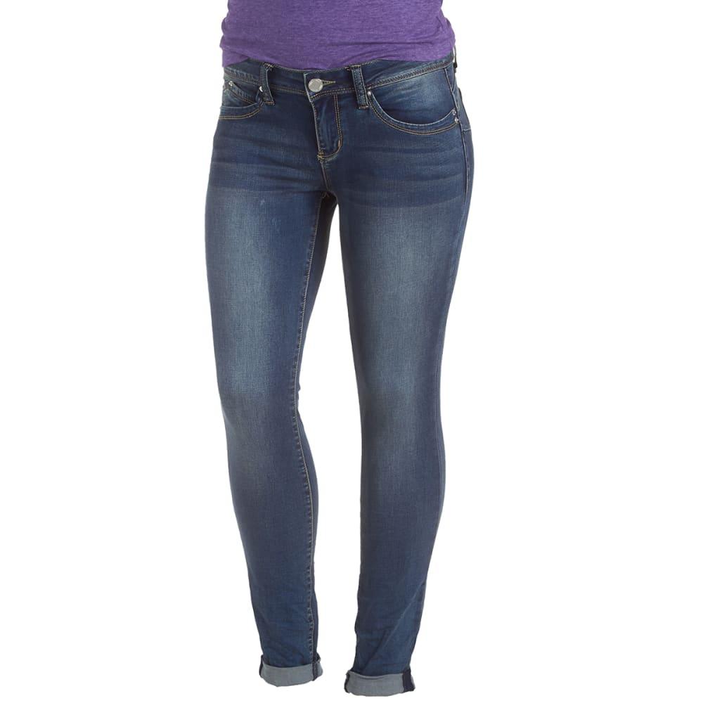 YMI Juniors' Wanna Betta Butt Skinny Jeans - S250 DK WASH
