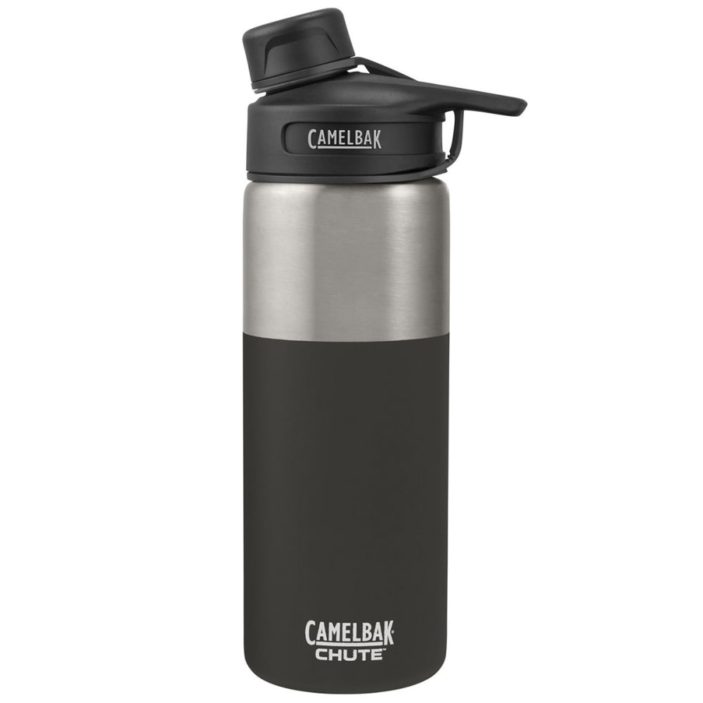 CAMELBAK Chute Vacuum Insulated Stainless Steel Water Bottle, .6L - JET BLACK 53863