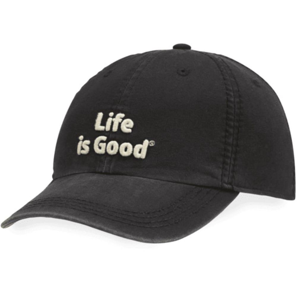 LIFE IS GOOD Men's Classic Chill Cap - NIGHT BLACK 43331