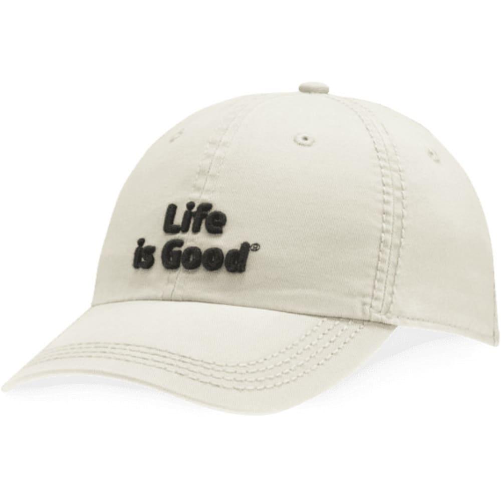 LIFE IS GOOD Men's Classic Chill Cap - BONE 43334