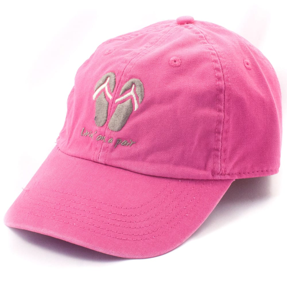 LIFE IS GOOD Men's Classic Chill Cap - BOLD PINK