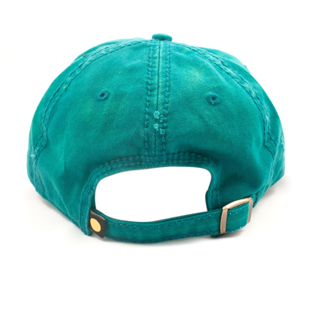 LIFE IS GOOD Women's Tattered Flag Chill Hat - TEAL 44856