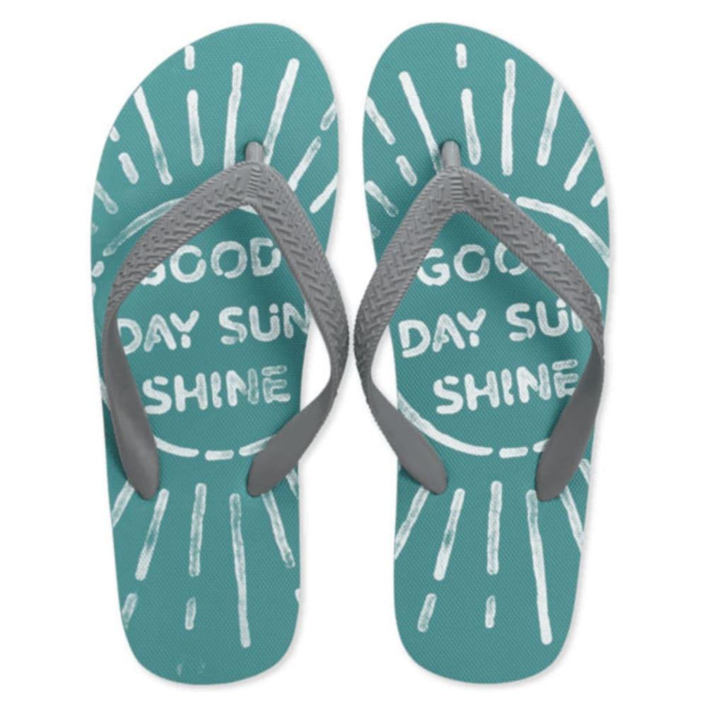 LIFE IS GOOD Women's Flip Flops - COCKATOO HTR 45154