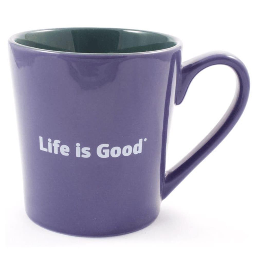 LIFE IS GOOD Everyday Heart Mug - BLUE/PURPLE