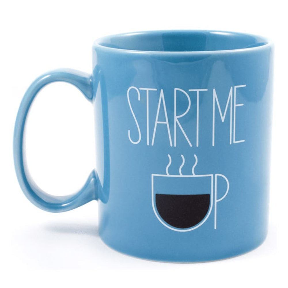 LIFE IS GOOD Jake's Start Me Up Mug - BRIGHT BLUE