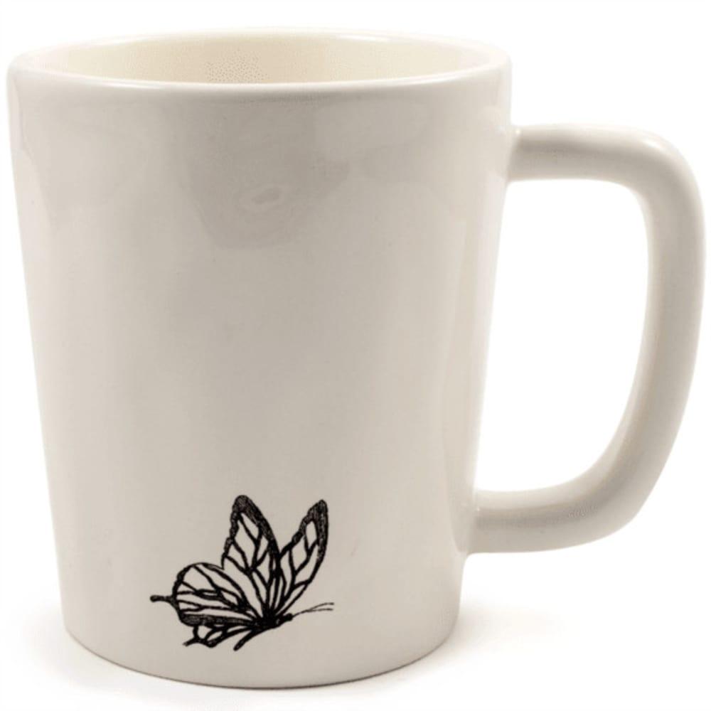 LIFE IS GOOD Go Places Artisan Mug - CREAM 44712